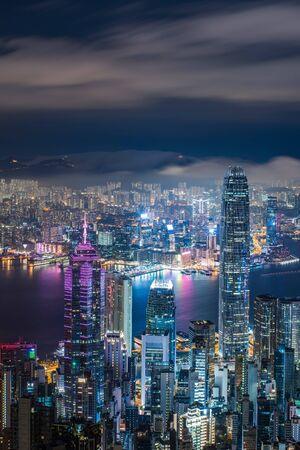 lighting of city