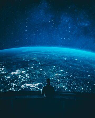 mysterious of sky Stock fotó