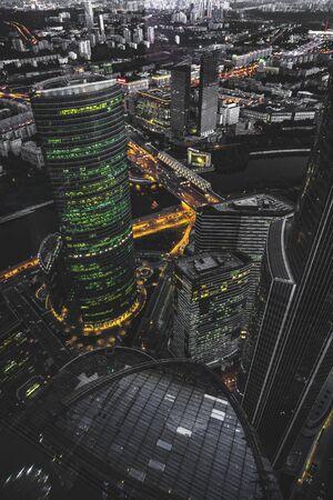 urban buildings Stock Photo