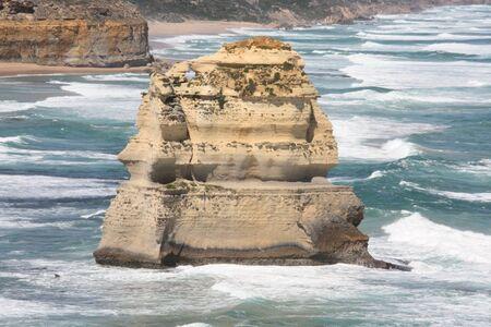 sand dune in ocean Imagens