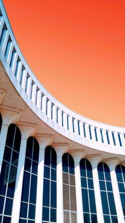 tall narrow windows curve Imagens