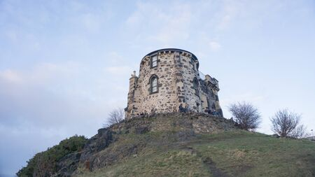 tower atop a hill