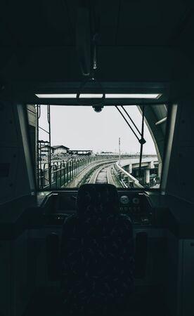 train car interior during daytime