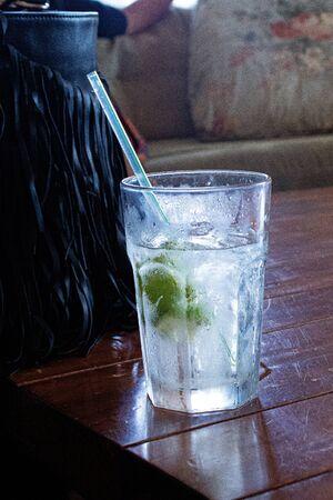 clear drinking glass 免版税图像