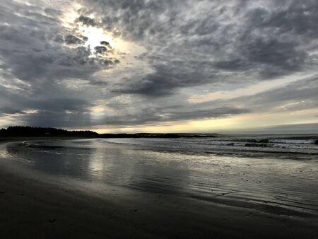 landscape of a beach Imagens