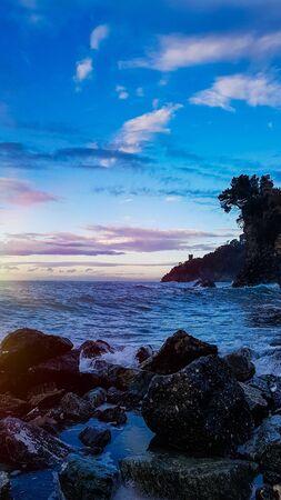 rocks on shore