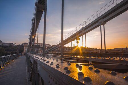 gray bridge Stock Photo