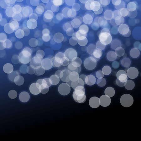 bokeh: Blue Backdrop with bokeh effect