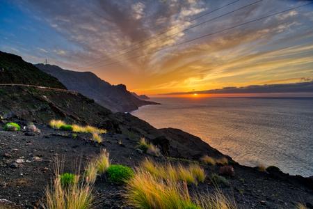 gran canaria: Gran Canaria sunset