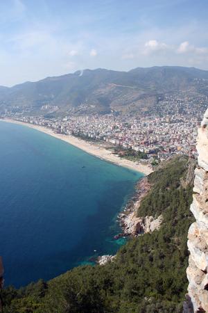 Alanya - Antalya - Turkey 版權商用圖片