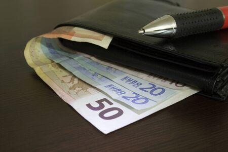 wallet close up
