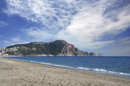 Alanya beach Stock Photo - 98602801
