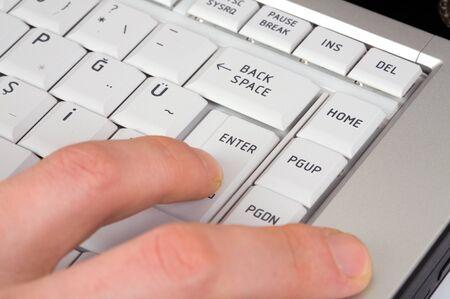 Use laptop keyboard