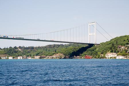 Bosphorus bridge. Istanbul Turkey