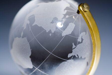 Glass world close up 版權商用圖片