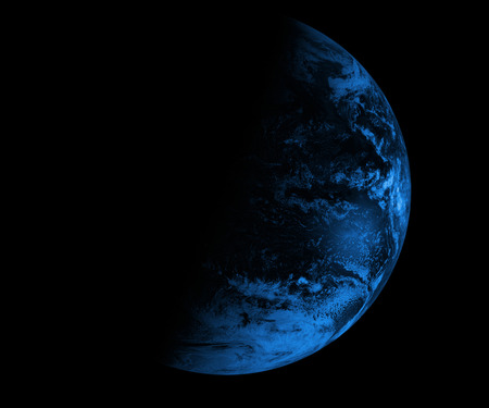 Composite image of earth.