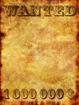 buckaroo: Poster in wild west style