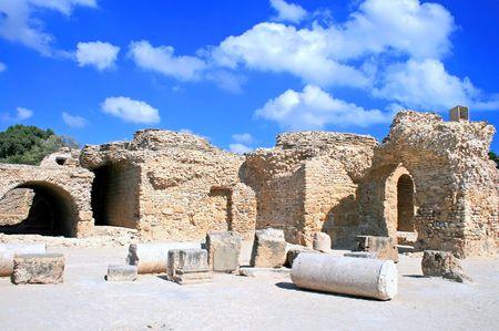 cartage: Ancient ruins in Cartage