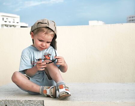 Funny kid Stock Photo - 4565738