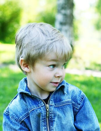 Portrait of pretty little boy Stock Photo - 4565727