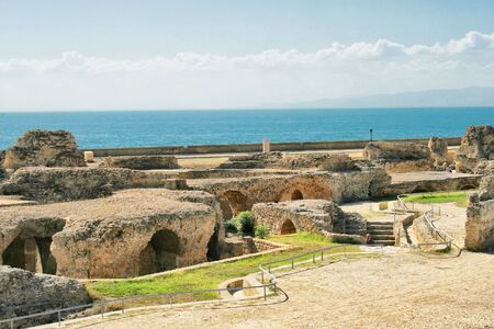 cartage: Ancient ruins in Carthage