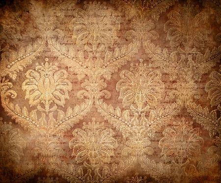 antiek behang: Grange achtergrond in vintage stijl