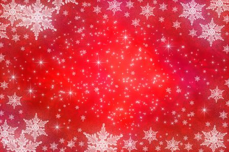 Winter holiday background with snowflakes