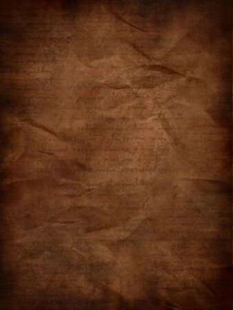 Vintage grunge paper texture with inscriptions Stock Photo - 5911770