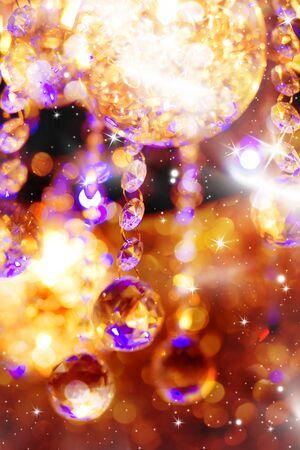 Beautiful shiny holiday background with stars Stock Photo - 8340026