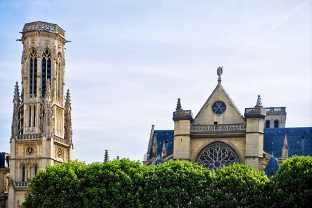Beautiful church of Saint Germain Auxerrois in Paris, France Stock Photo - 9947165