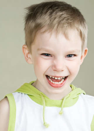 Happy little boy with smile Stock Photo - 9947162