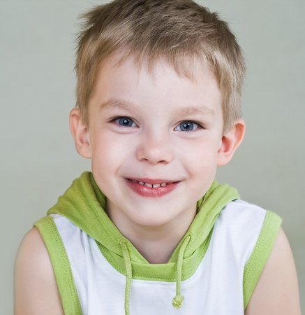 Happy little boy with smile Stock Photo - 9947160