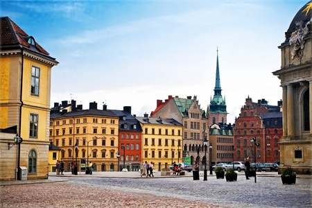 Old Town Stockholm, Sweden, july 2011 Editorial