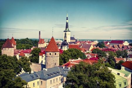 tallinn: Tallinn Old Town, Estonia