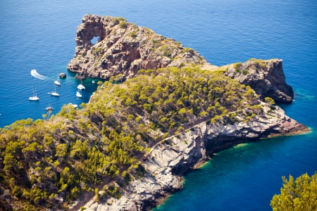 na: Beautiful view of Na Foradada< Mallorca< Balearic island, Spain