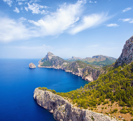 Cape Formentor in Mallorca, Balearic island, Spain photo