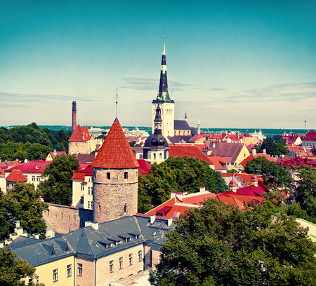 Tallinn Old Town, Estonia photo