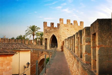 Fortification in Alcudia, Mallorca, Spain