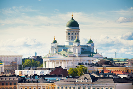 Cathedral of Saint Nicholas in Helsinki, Finland