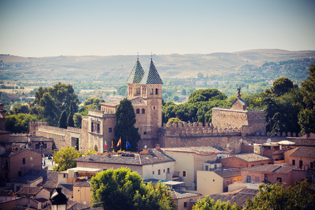 toledo town: Cathedral in Toledo town, Spain