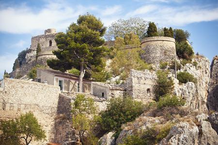 jose: Castle San Jose in Guadalest, Spain