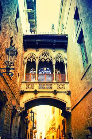 gotico: Barrio Gótico de Barcelona, ??España