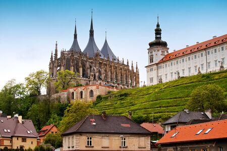 Cathedral Saint Barbara in Kutna Hora, Czech republic