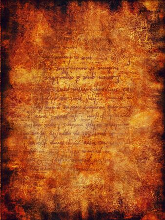 vermilion: Vintage grunge paper background. Texture Stock Photo
