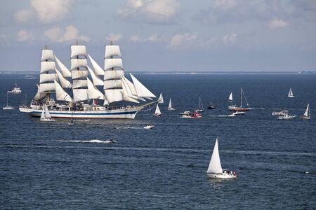 The Tall Ships Races. Gdynia, Poland. Banco de Imagens
