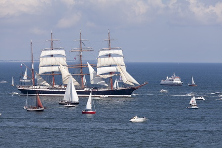 The Tall Ships Races. Gdynia, Poland. Stock fotó