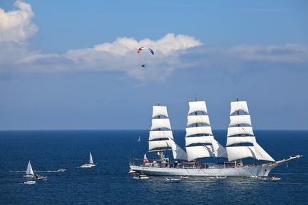 The Tall Ships Races. Gdynia, Poland. photo