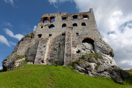 The Ogrodzieniec Castle, Poland Stock Photo - 11852374