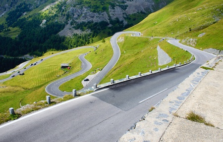 High Alpine Road - Grossglocknear, Austria.