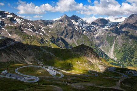 Grossglockner High Alpine Road, Austria, Europe. photo